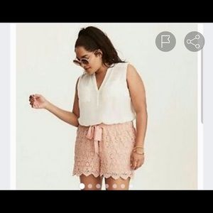 Pink Torrid Shorts